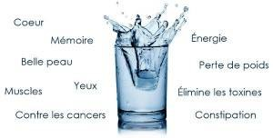 bienfaits eau jeune hydrique