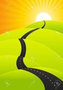 route vacances ou le haut de la réussite